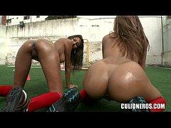 nude teens on soccer field