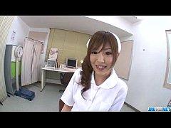 Miku Airi Asian nurse craves for a tasty dick