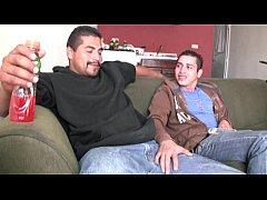 Hot straight latino guys suck each other big un...