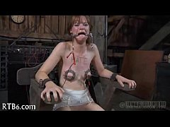 Slave electro punishment