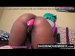 sexy babe msnovember anal gape her booty hole for ass worship face sitting butt