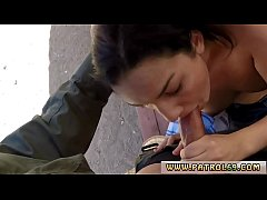 Cop tied Sweet black-haired Paisley Parker was ...