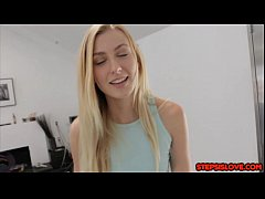 Teen Alexa Grace tries to sneak out but gets ca...