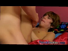 Elite gay twinks dad boy Kyler Moss is all horn...