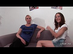 Casting Cindy Picardie prise en double penetrat...