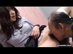 Cheating wife getting her hairy muff eaten out ...