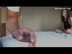Teen slut Lily Jordan drilled and jizzed by big...