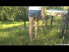 Rebecca Walks Barefoot