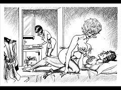 Classic Huge Breast Fetish Bondage