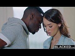 BLACKED teen girl tries bbc