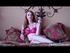 You need to be punished with a chastity device