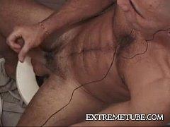 Super Sexy Skinhead hunk masturbates