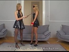 Mistress hot fuck with slave big cock