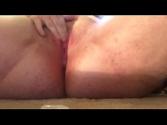 Anal and pussy penetration with squirting and f...