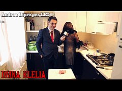 Mistress Divina Klelia destroys and cooks a cou...
