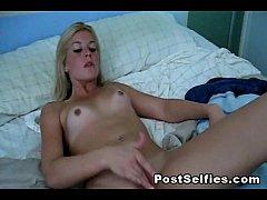 Homemade Girlfriend Pussy Masturbation Sex Video
