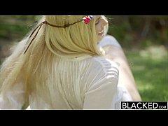 BLACKED Model Addison Belgium Squirts on Huge B...