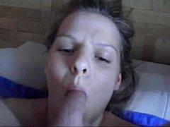 Blonde anal creampie