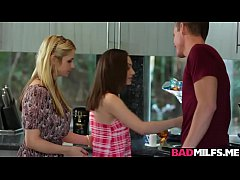 Threeway With Sarah Vandella and Lily Jordan Is...