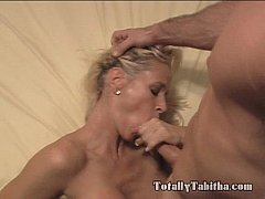 Totally Tabitha BJ Tittyfuck Blowjob and Facial