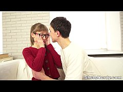 She Is Nerdy - Nailed redtube for xvideos a goo...