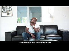 teensloveblackcocks - hot blonde uses her tight pussy to pay the bills
