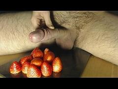 Cum on Food - Strawberry and Cream