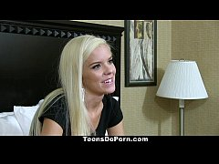 TeensDoPorn - 19YO Halle Von's Casting Video!