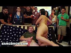 BANGBROS - Big pornstar party in college dorms ...