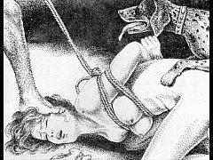 Slaves to rope japanese art bizarre bondage ext...