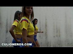 CULIONEROS - Sexy Latina Soccer Players with Bi...