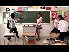 Who is she? Japanese teacher. no nude scene