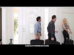 DaugherSwap - Hot Teens Fuck Dads During Mardis...