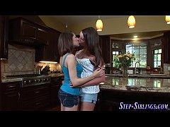 Smalltits steplez licking