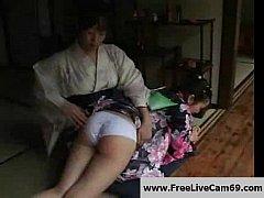 Japan Girl Punish by Her Mum, Free Japanese Por...