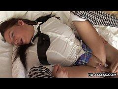 Tender teen Ofeliya gets her holes stuffed hard