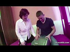 Hairy Mother Seduce Young Step-Son to Fuck her ...