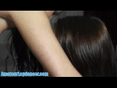 Super HOT girl on girl lapdance