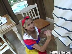 Hot Wife Rio as snow white