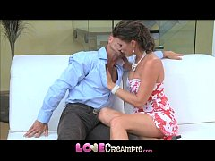 Love Creampie Hot mom gets the fuck of her life...