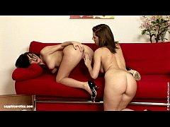 wonton thrusting by sapphic erotica - lesbian love porn with antonia - nikole