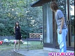 Hijiri Kayama gets doggy and cum on street