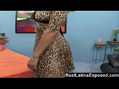 reallatinaexposed - kinky hubby watches wife getting a pro s load