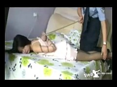 Beautiful girl get tied up by police - http://t...