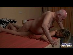 Young Secretary evaluation old man boss fucks b...