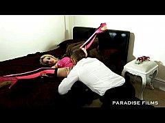 paradise films skinny cheesie has amazing huge tits