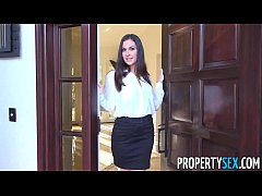 PropertySex - Horny real estate agent busted wa...