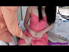 Smalltits teen jizz faced