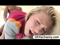 Teen Scarlet Red gets her pussy pounded by a ma...