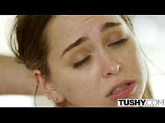 TUSHY Riley Reid First Double Penetration